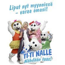 Korttikuva: TI-TI NALLE, NÄHDÄÄN TAAS! -KONSERTTI